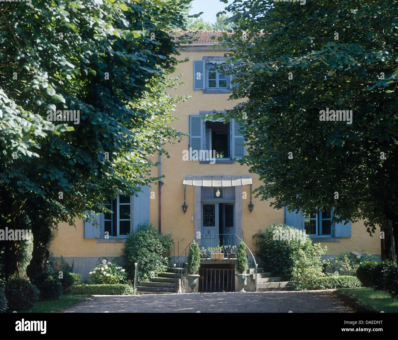 Franzosischer Balkon Landhaus Gross Schlafzimmer Franzosisch Bett