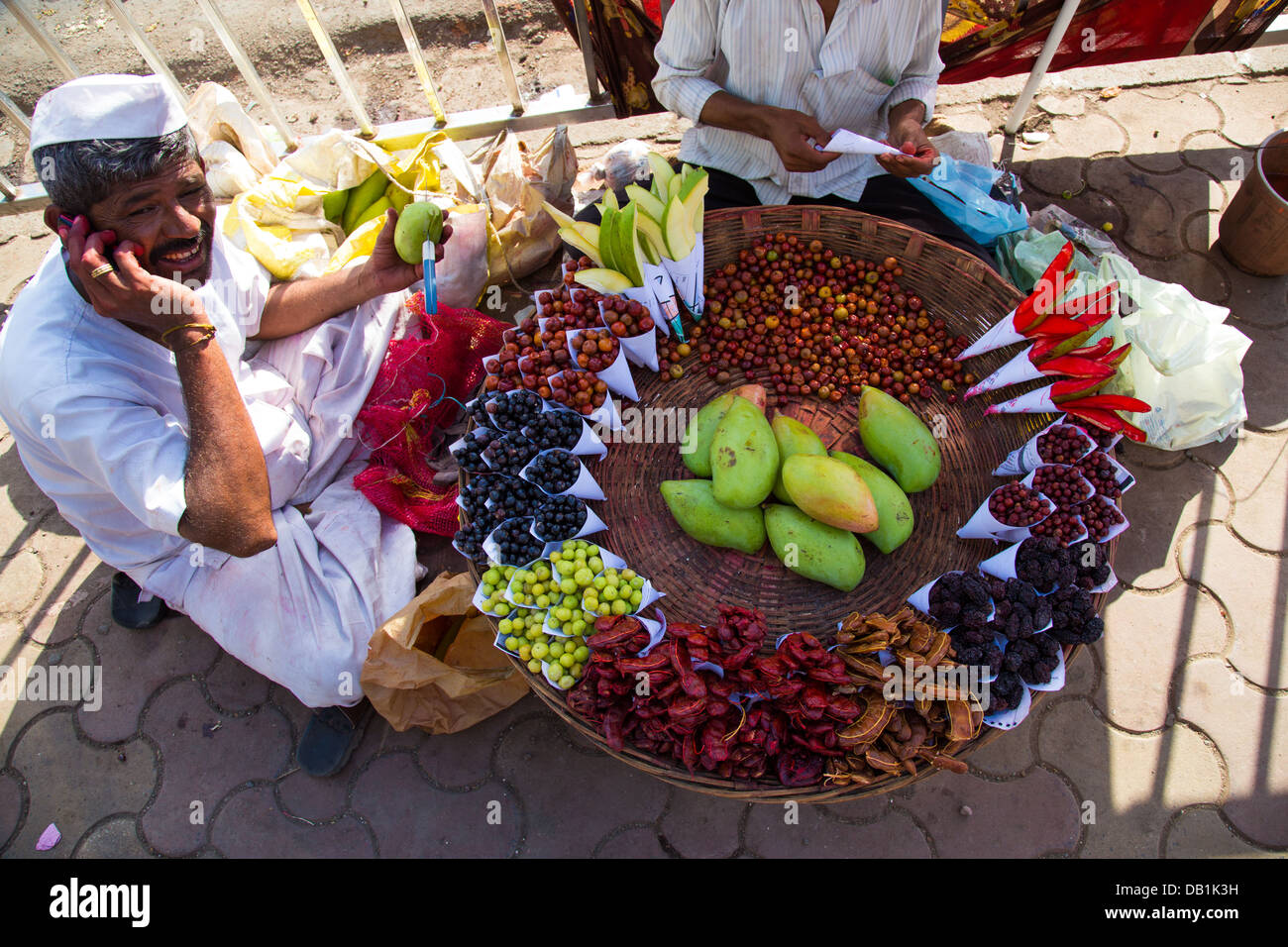 Obst Snacks Obst Snacks Suppen In Mumbai Indien Stockfoto Bild 58429269