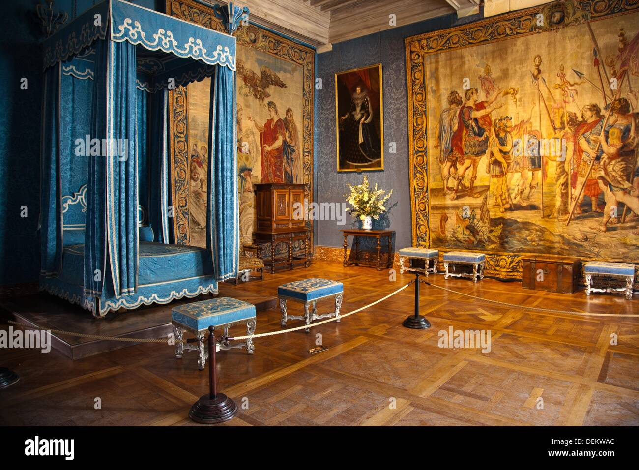 Schlafzimmer Der Queen Bedroom Of Louis Xiv Stockfotos & Bedroom Of Louis Xiv