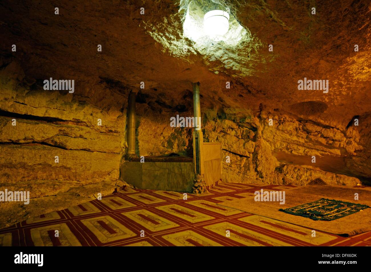 Jerusalem Stein Fliesen Dome Of The Rock Jerusalem Interior Stockfotos And Dome Of