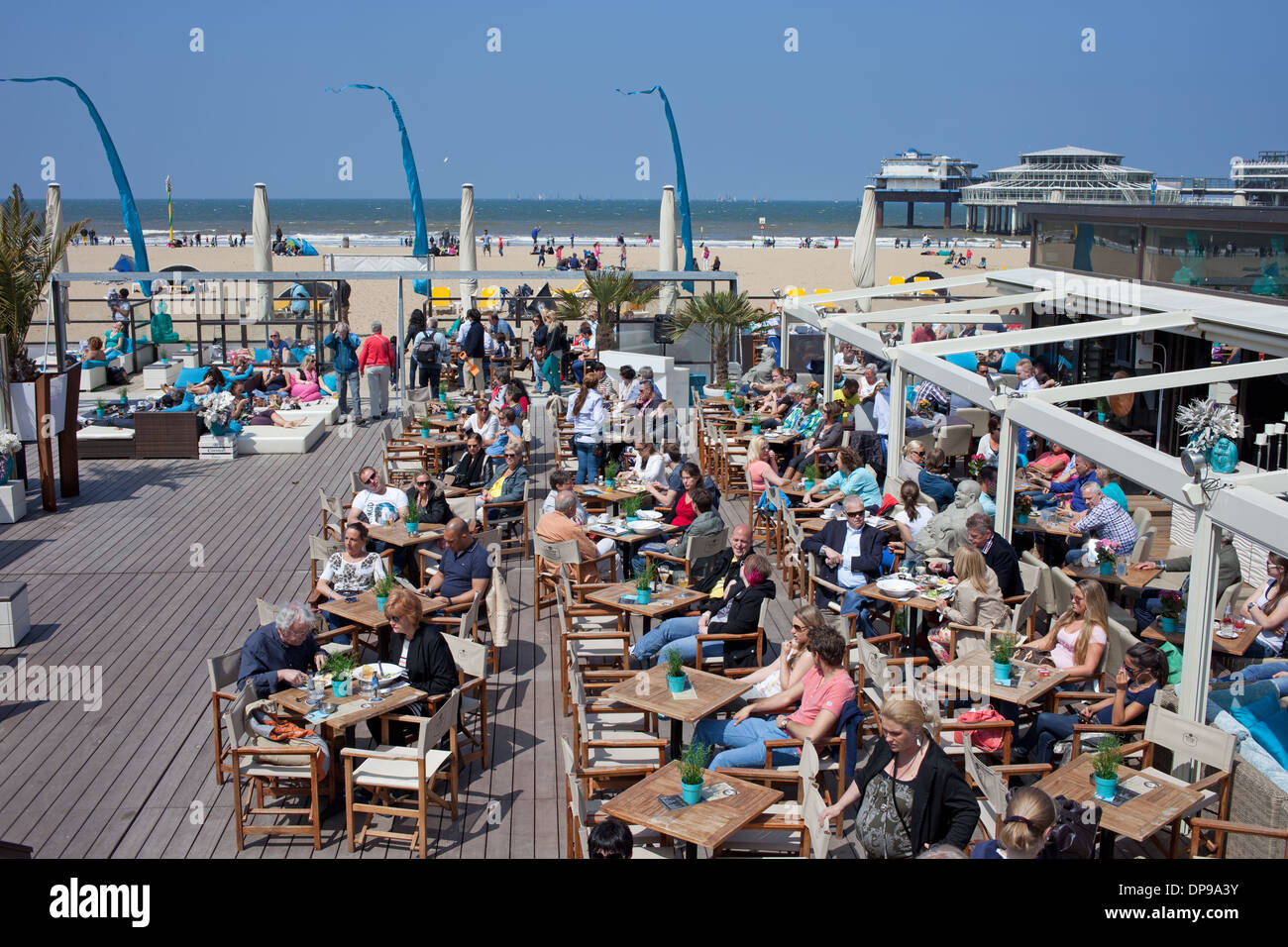 Scheveningen Beach Restaurants Beach Club Café Restaurant In Scheveningen Gegend An Der Nordsee