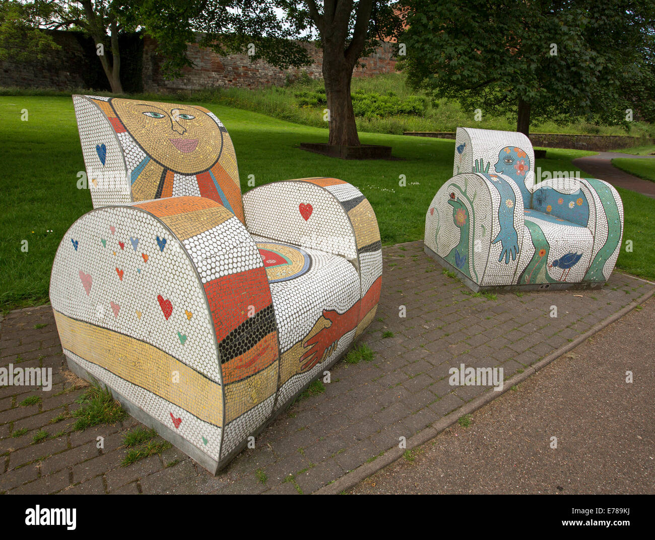 Hässlichster Sessel Outdoor Artwork Stockfotos Outdoor Artwork Bilder Alamy