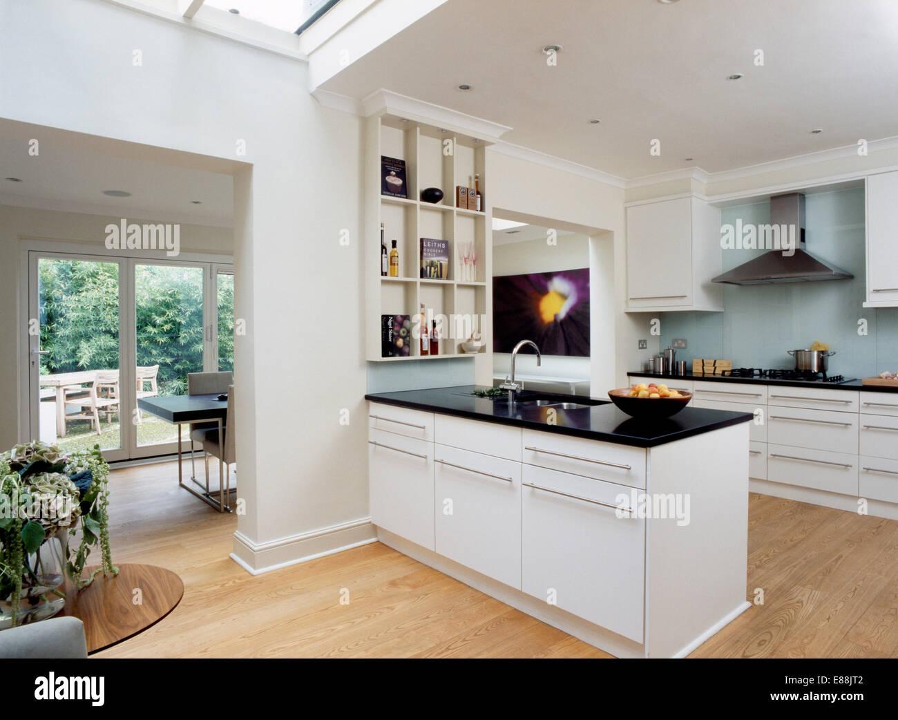Weisse Küche Granit Arbeitsplatte   Weiße Platte ...