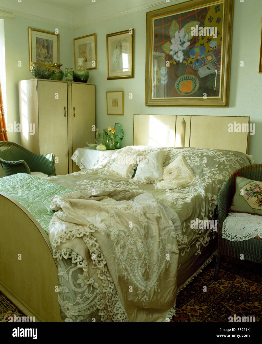Schlafzimmer Schrank 50er Jahre