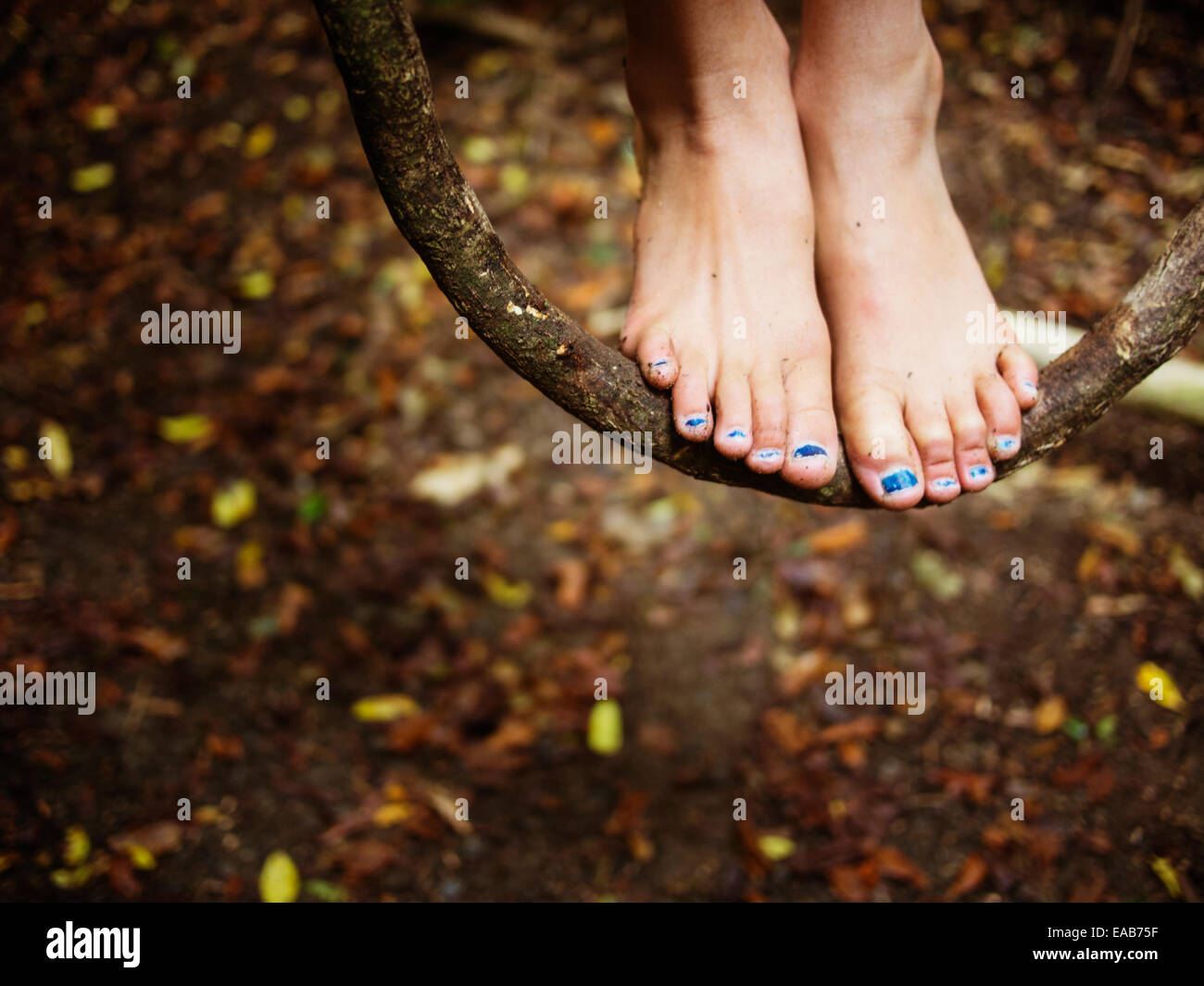 Gartenmuscheln Barefoot Stockfotos And Barefoot Bilder Alamy