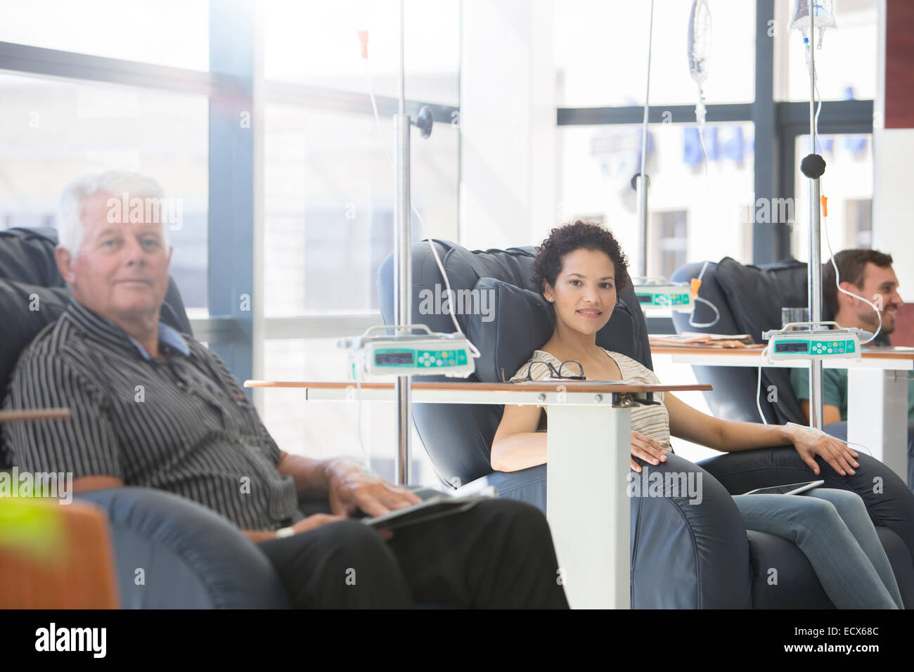 Sitzen Im Sessel Ward Stockfotos And Ward Bilder Alamy