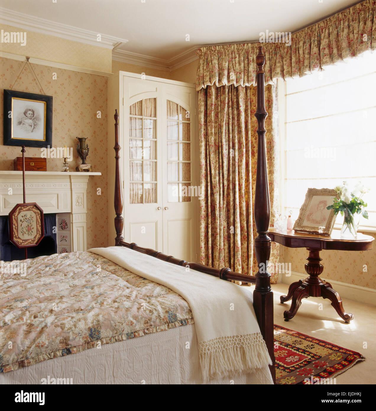 Vintage Gardinen Schlafzimmer   Schlafzimmer Modern Komplett