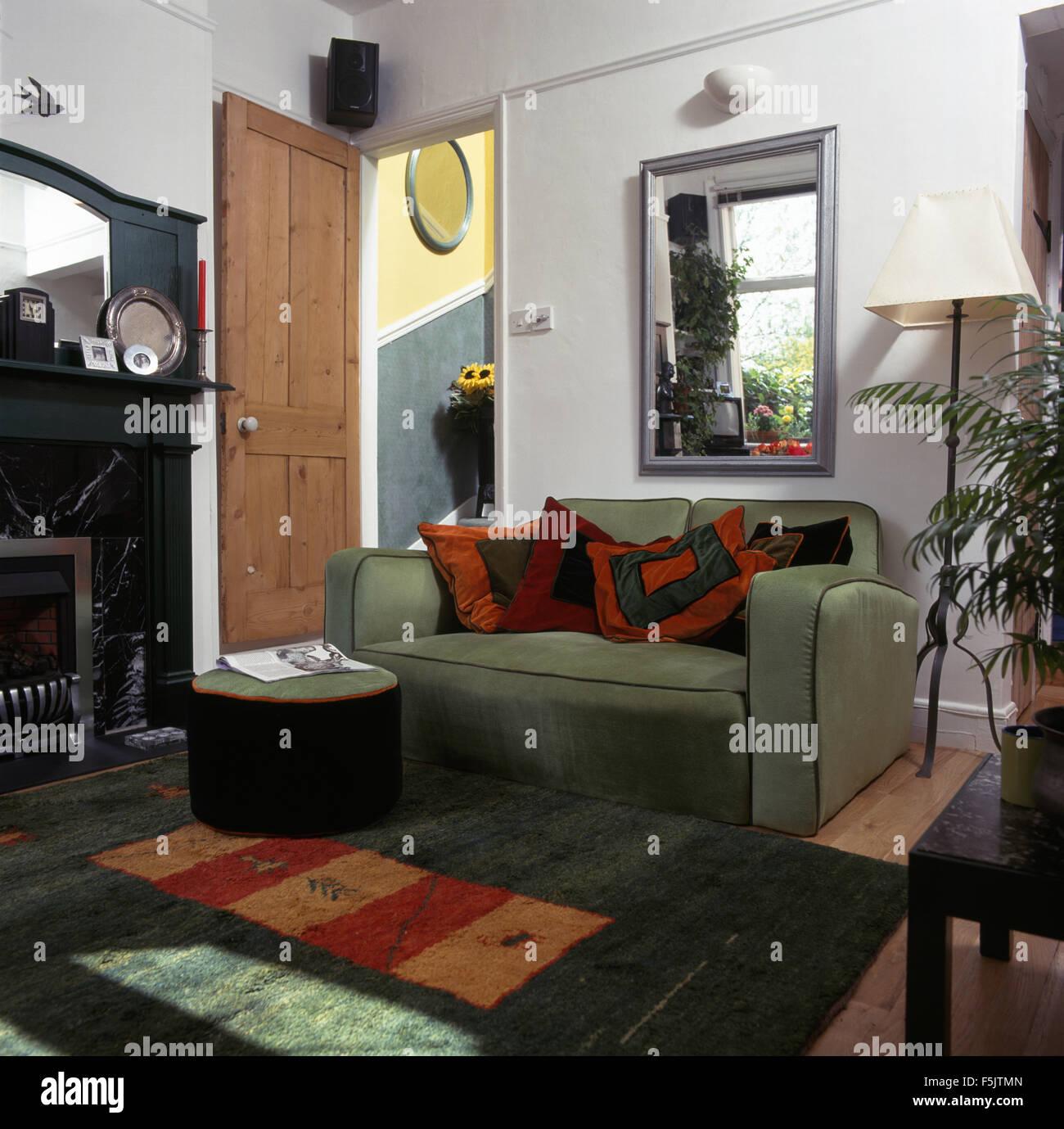 Wohnzimmer Orange Grün   Wohnzimmer Einrichten Braun Orange Parsvending