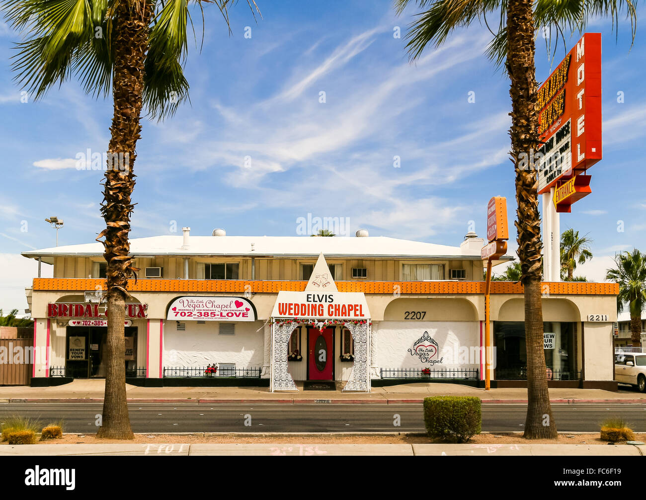 Drive In Hochzeit Las Vegas Las Stockfotos And Las Bilder Alamy