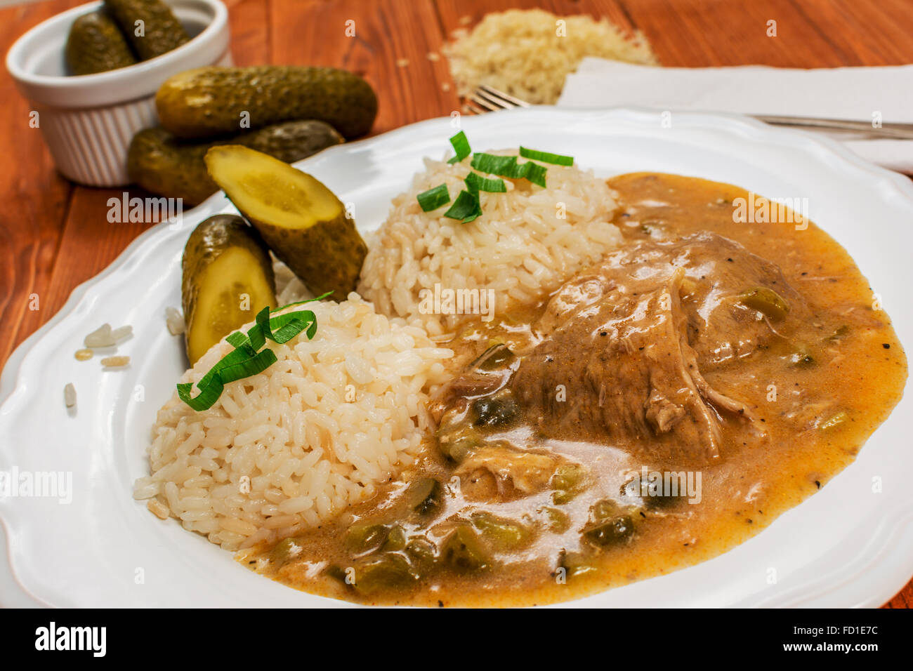 Traditionelle Tschechische Küche In Prag Czech Food Stockfotos And Czech Food Bilder Alamy