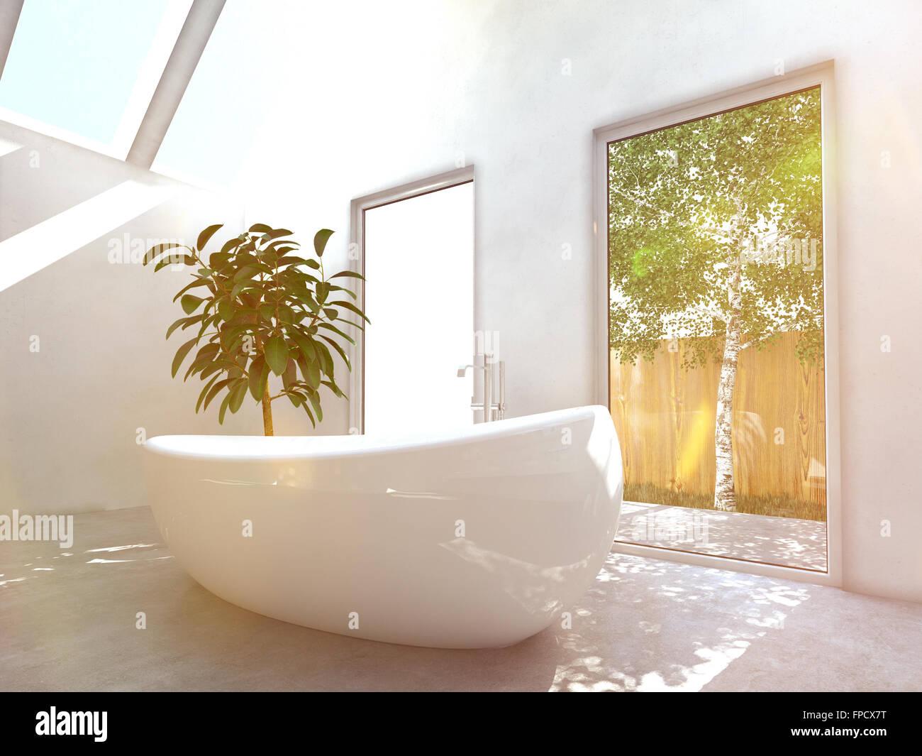 Glasscheibe Badezimmer Fenster