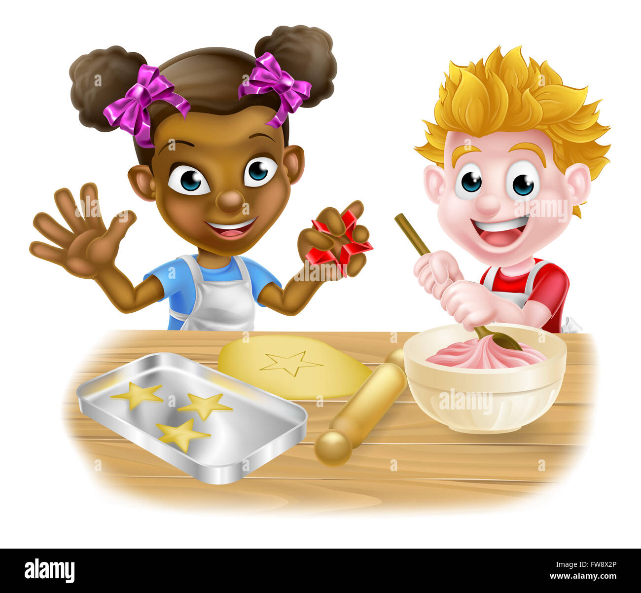 Kinder Küche Clipart Kinder Backen Clipart Home And Moven