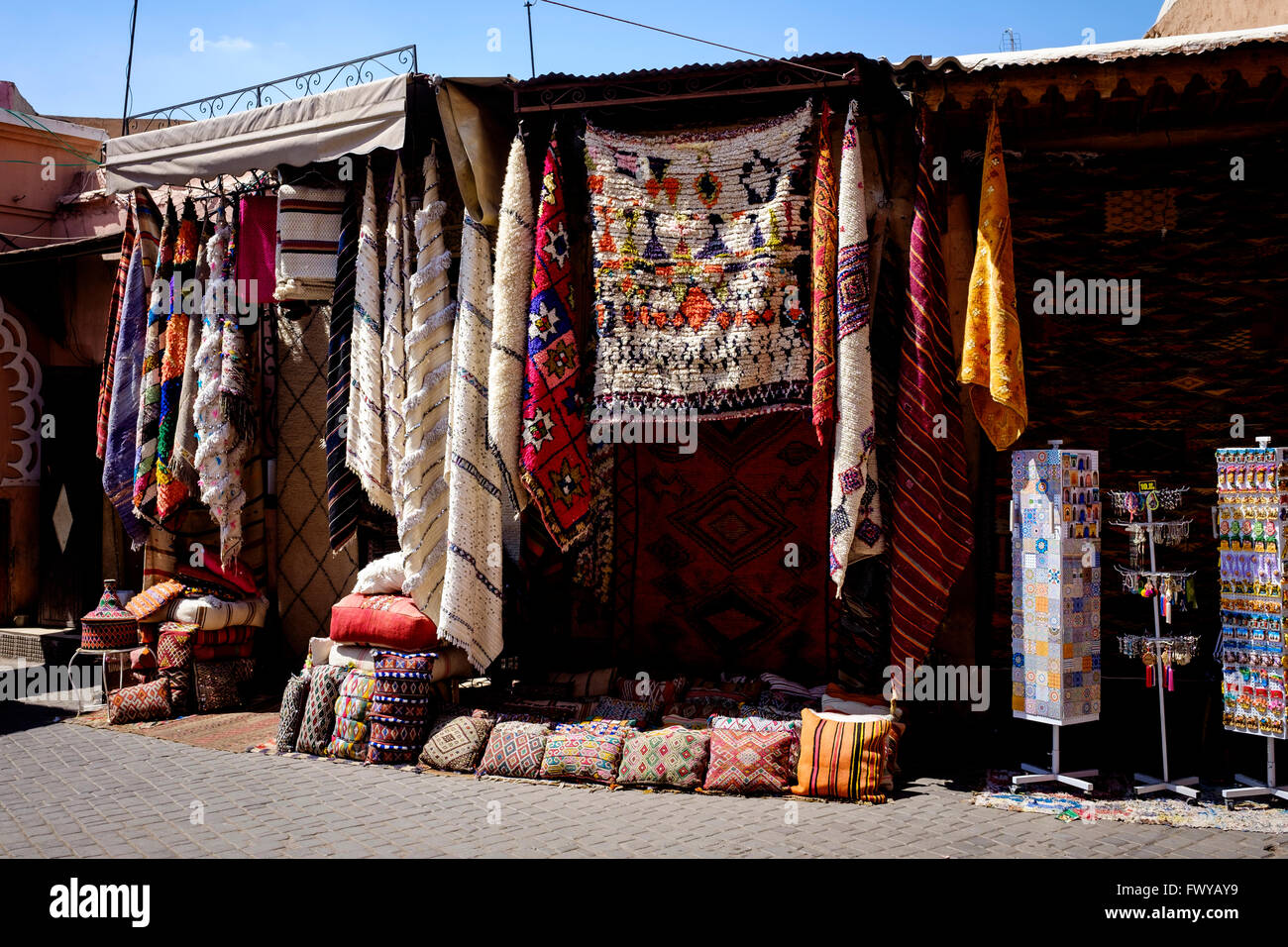 Berber Teppiche Marrakesch Carpets Marrakech Souk Stockfotos And Carpets Marrakech Souk