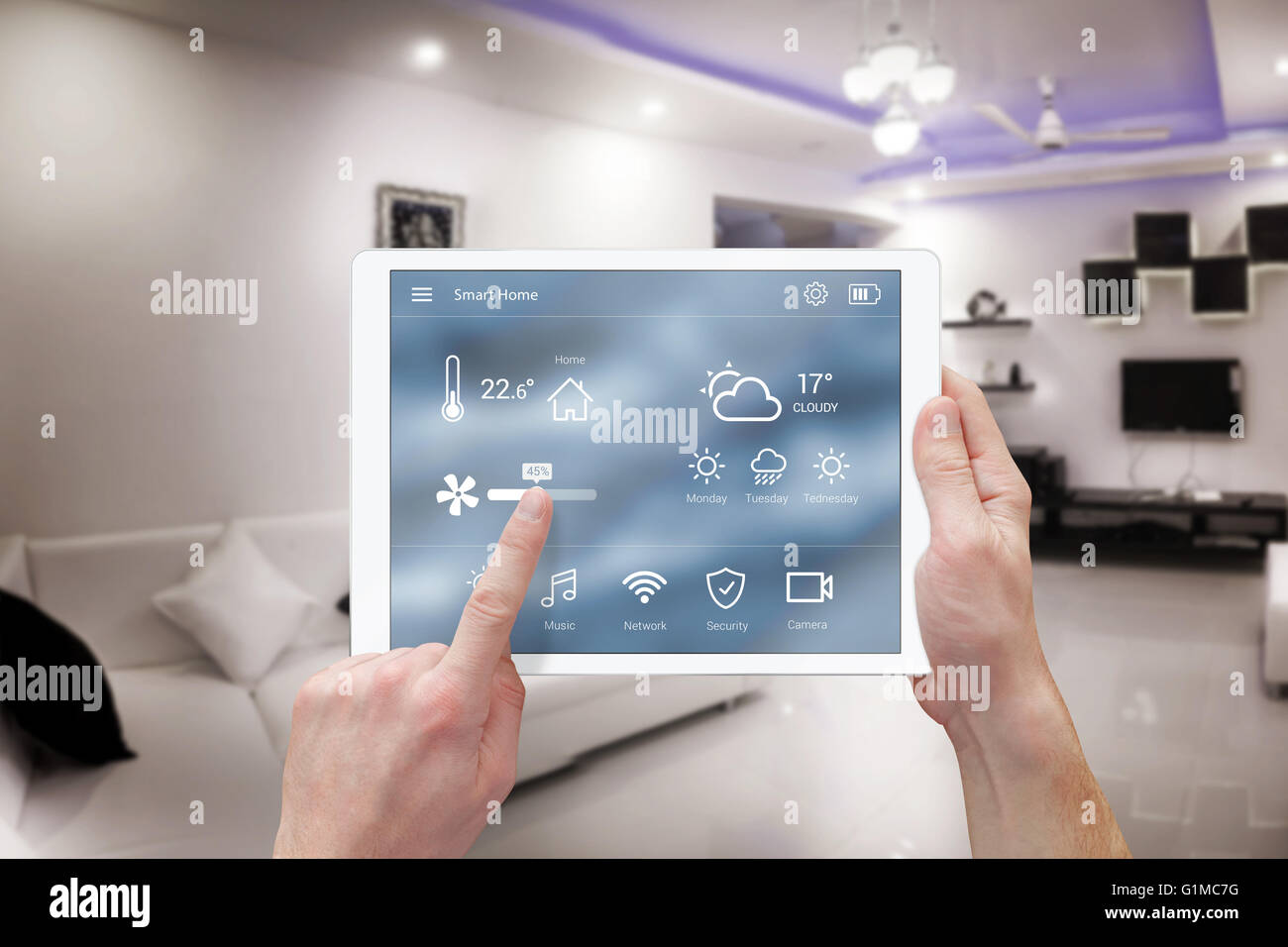 Smart Home Fernbedienung Smart Home Fernbedienung