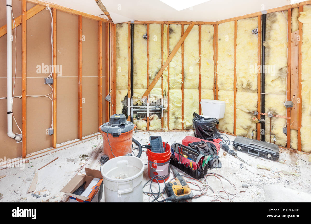 Badezimmer Abriss Bad Umbau Stockfotos Bad Umbau Bilder Alamy