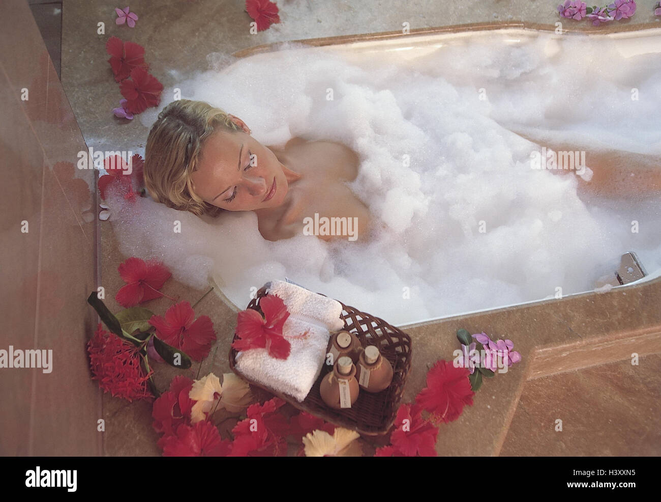 Badezimmer Deko Pastell Bad Essenz Stockfotos Bad Essenz Bilder Alamy