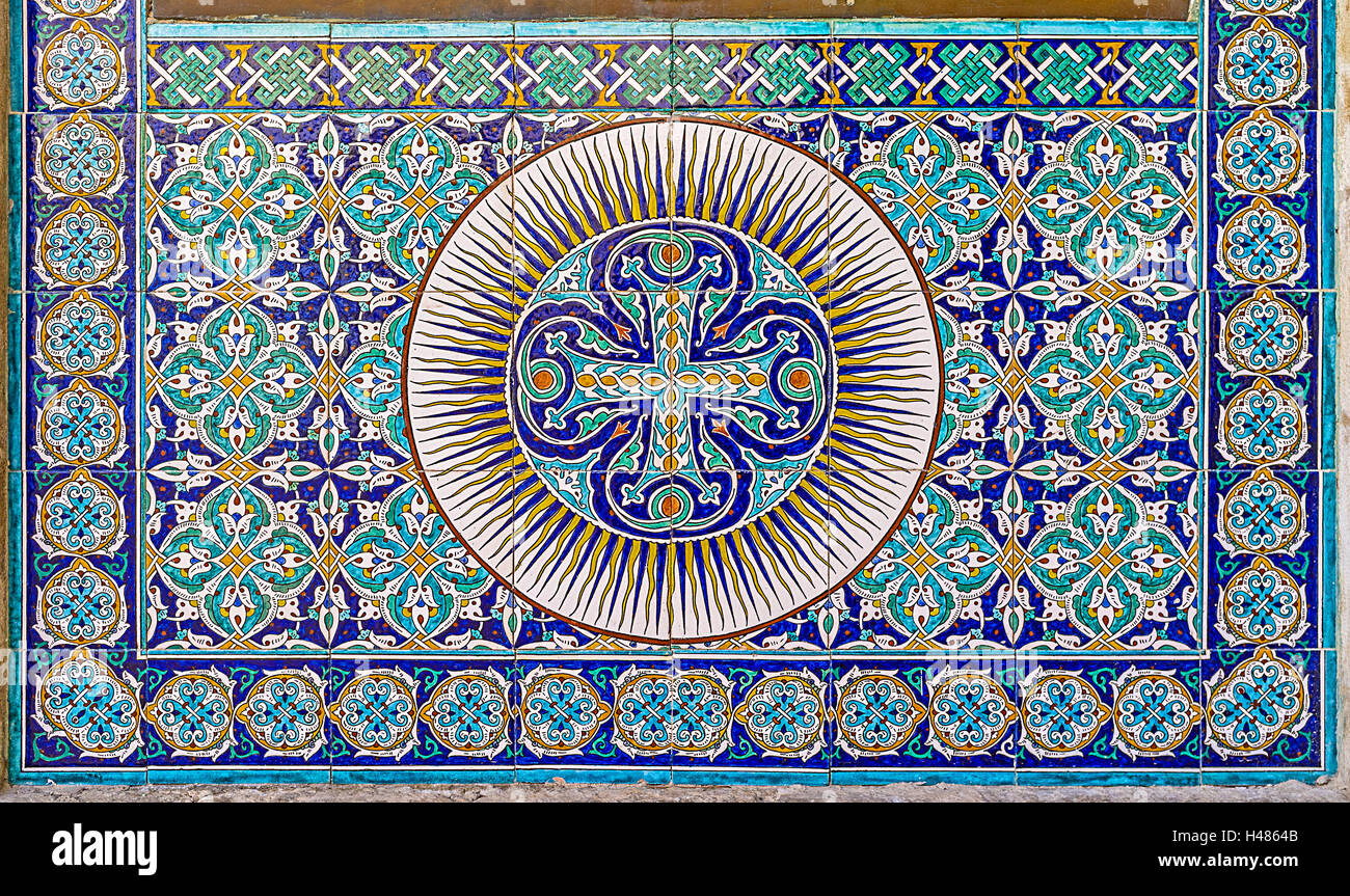Wand Fliesen Alte Muster Armenian Craft Stockfotos And Armenian Craft Bilder Alamy
