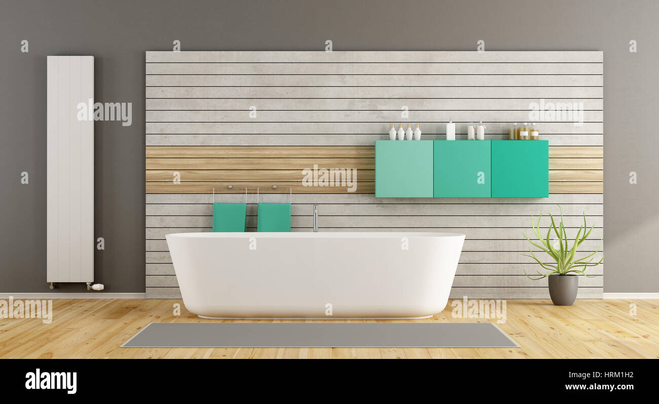 Minimalistische Badezimmer Wooden Bath Panel Stockfotos And Wooden Bath Panel Bilder