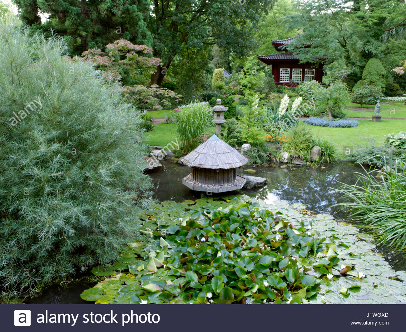 Asiatischer Garten Bayern Japanese Garden Leverkusen Germany Stockfotos And Japanese