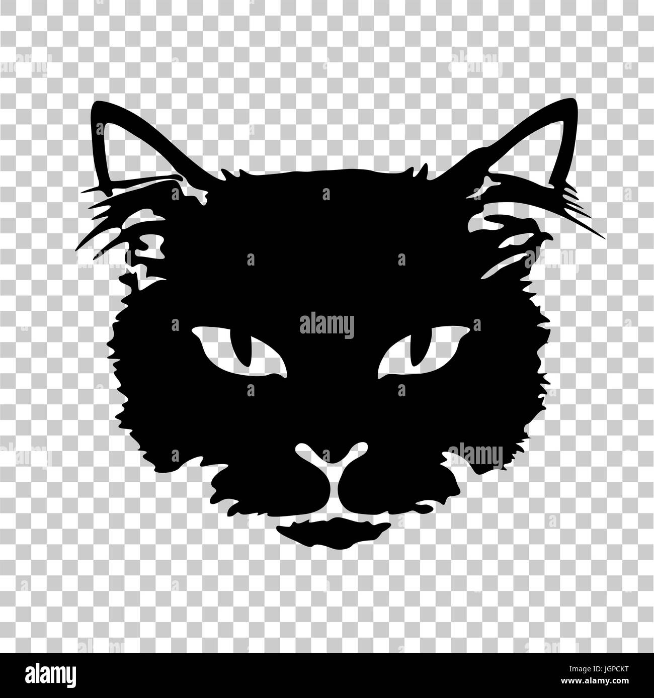 Tattoo Vorlagen Katze Outline Drawing Cat Kitten On Stockfotos Outline Drawing Cat