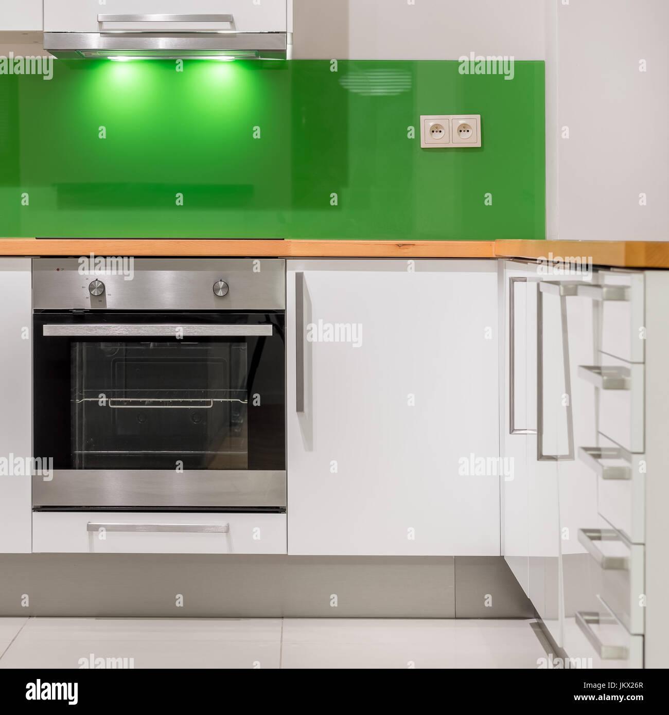 Ofen Spritzschutz Küche