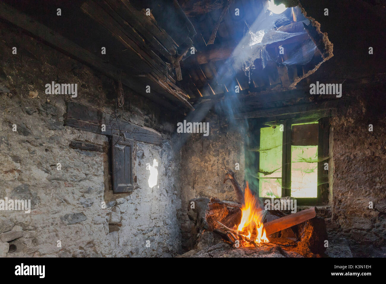 Fireplace Ibiza Kaminofen Ancient Fireplace Stockfotos Ancient Fireplace Bilder Alamy