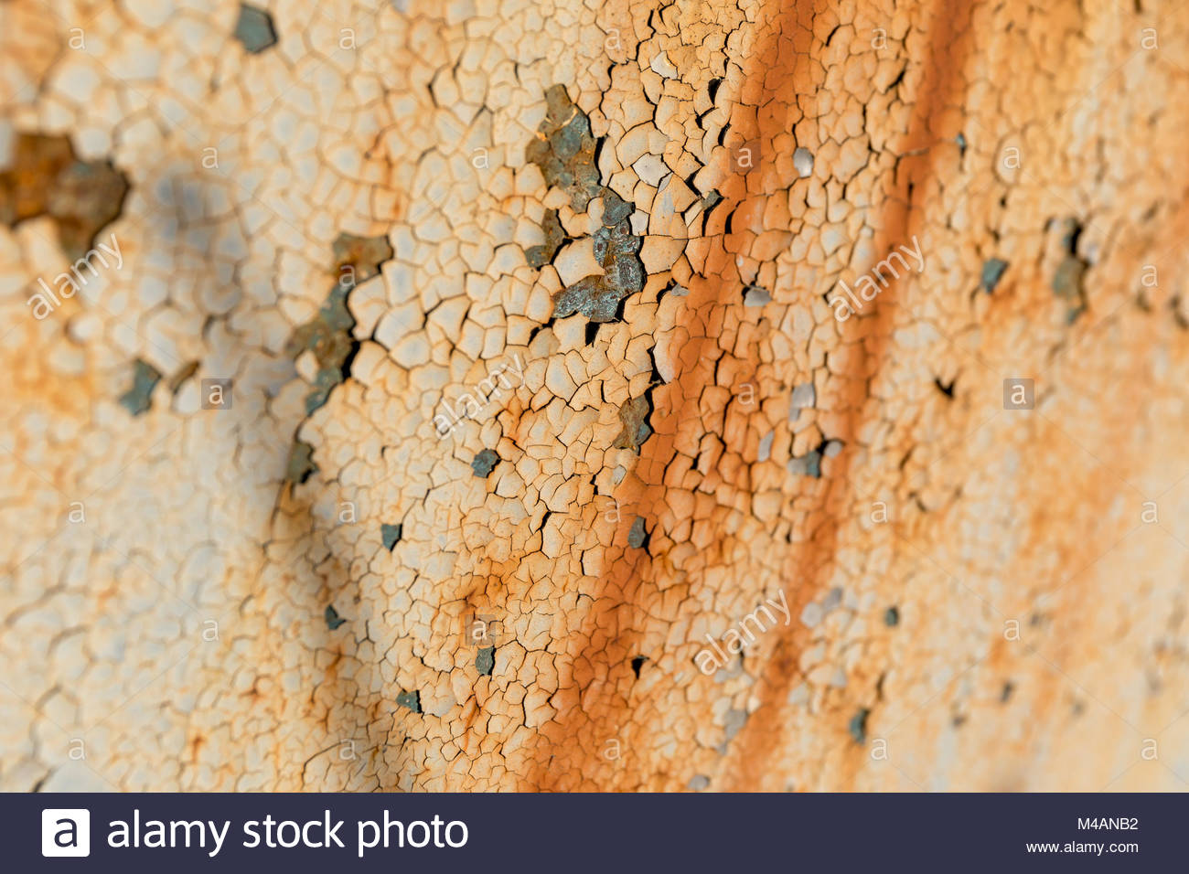Rostiges Metall Klar Lackieren Rust And Painted Surface Stockfotos And Rust And Painted