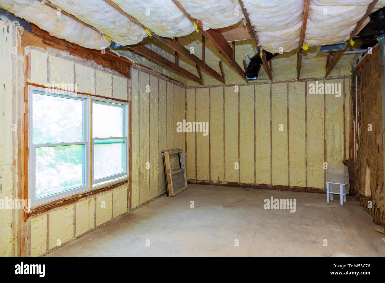 Container Haus Isolieren Thermo Isolation Stockfotos Thermo Isolation Bilder Alamy