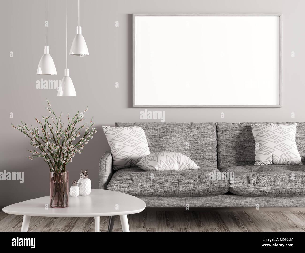 Moderne Wohnzimmer Weiss Grau | Mowade Modernes Wanddesign Mit ...