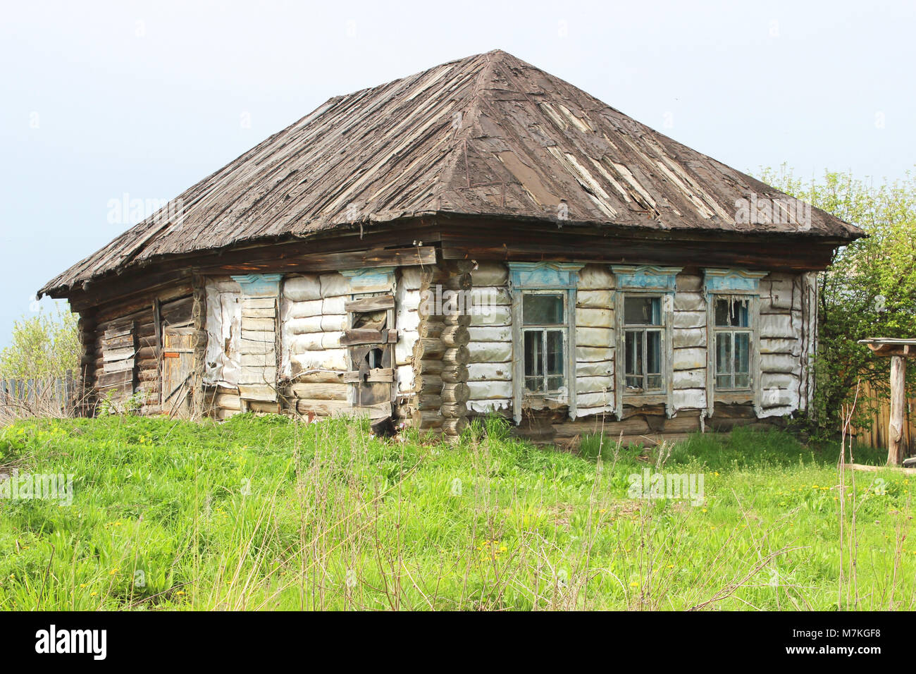 Russisches Holzhaus Russian Countryside Stockfotos And Russian Countryside
