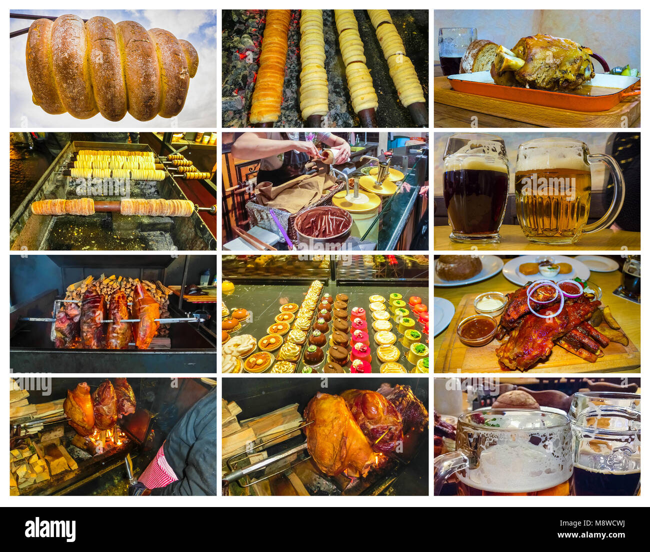 Traditionelle Tschechische Küche In Prag Czech Dish Stockfotos And Czech Dish Bilder Alamy
