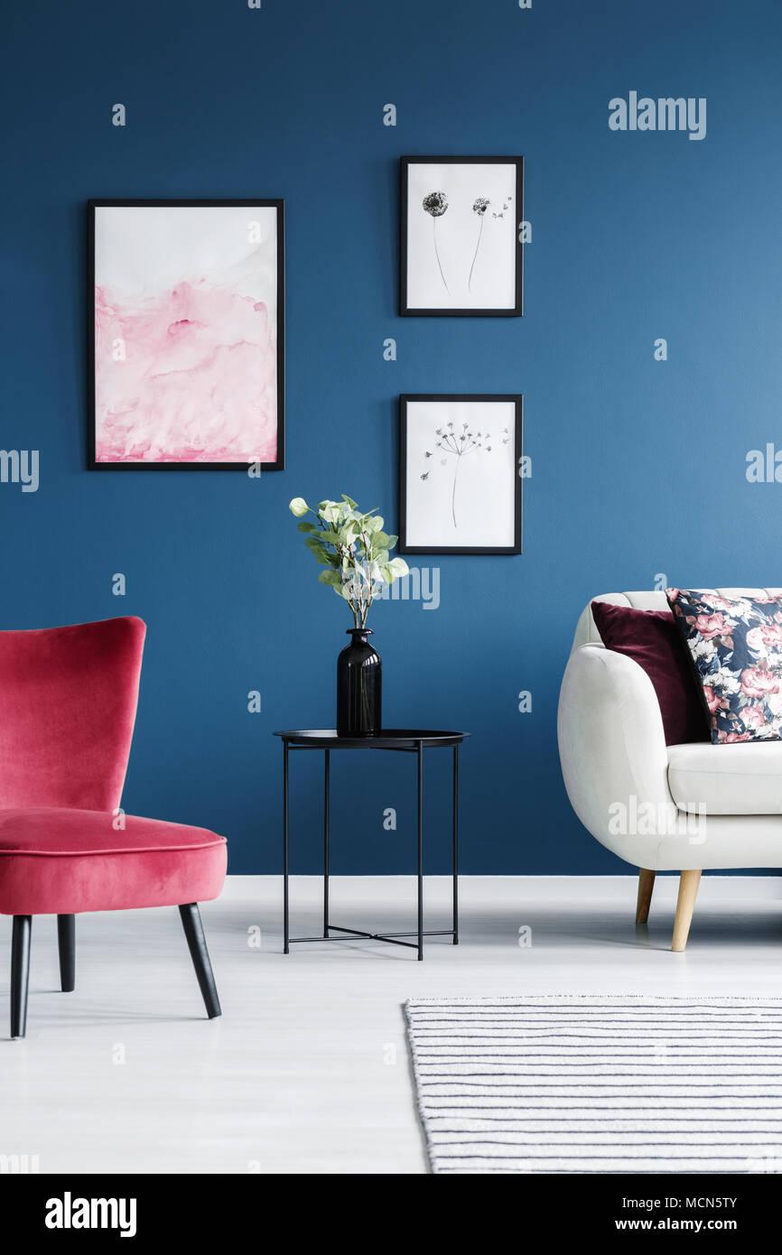 Wohnzimmer Schwarz Blau | Wohnzimmer Schwarz Blau Richardkelsey Co ...