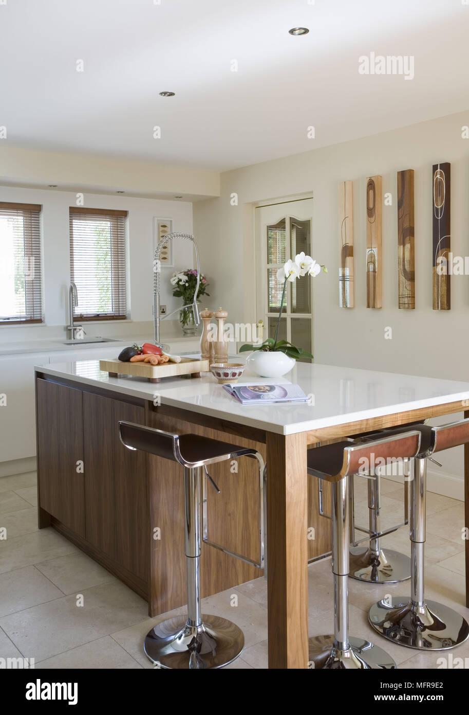 Bar Küche | Kuche Mit Holz Bar Kuche Mit Bartheke Modern