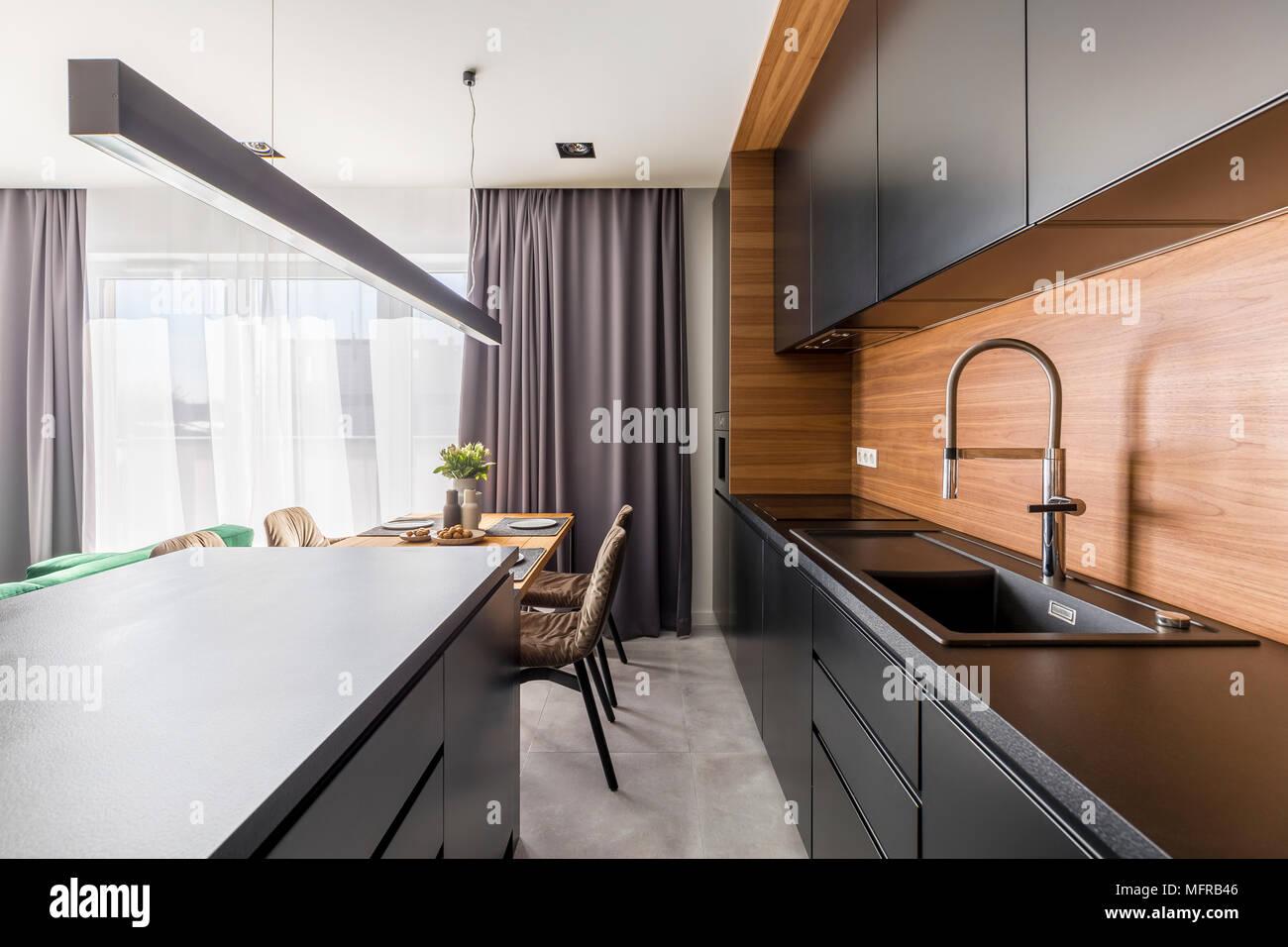 Küche Stahl Holz | Küchenarbeitsplatte Wikipedia