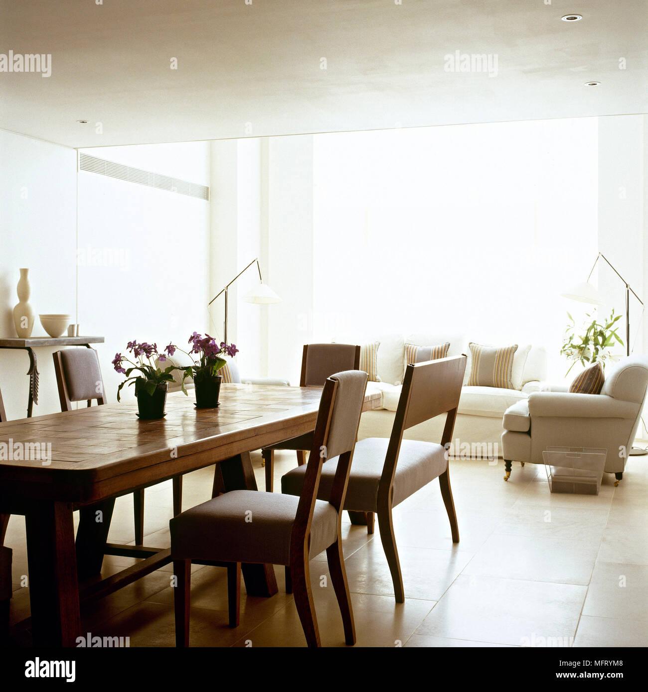 Teppich Esszimmer Modern Auch Genial Lampe Esszimmer: Modernes Wohnzimmer Mit Essbereich