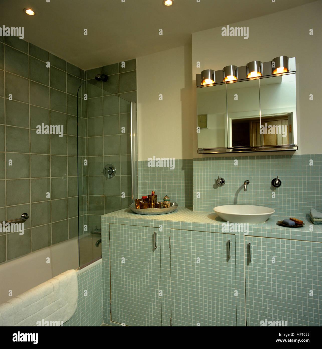 Bad Waschtisch Fliesen Badezimmer Fliesen Holzoptik Grau 4 Schon