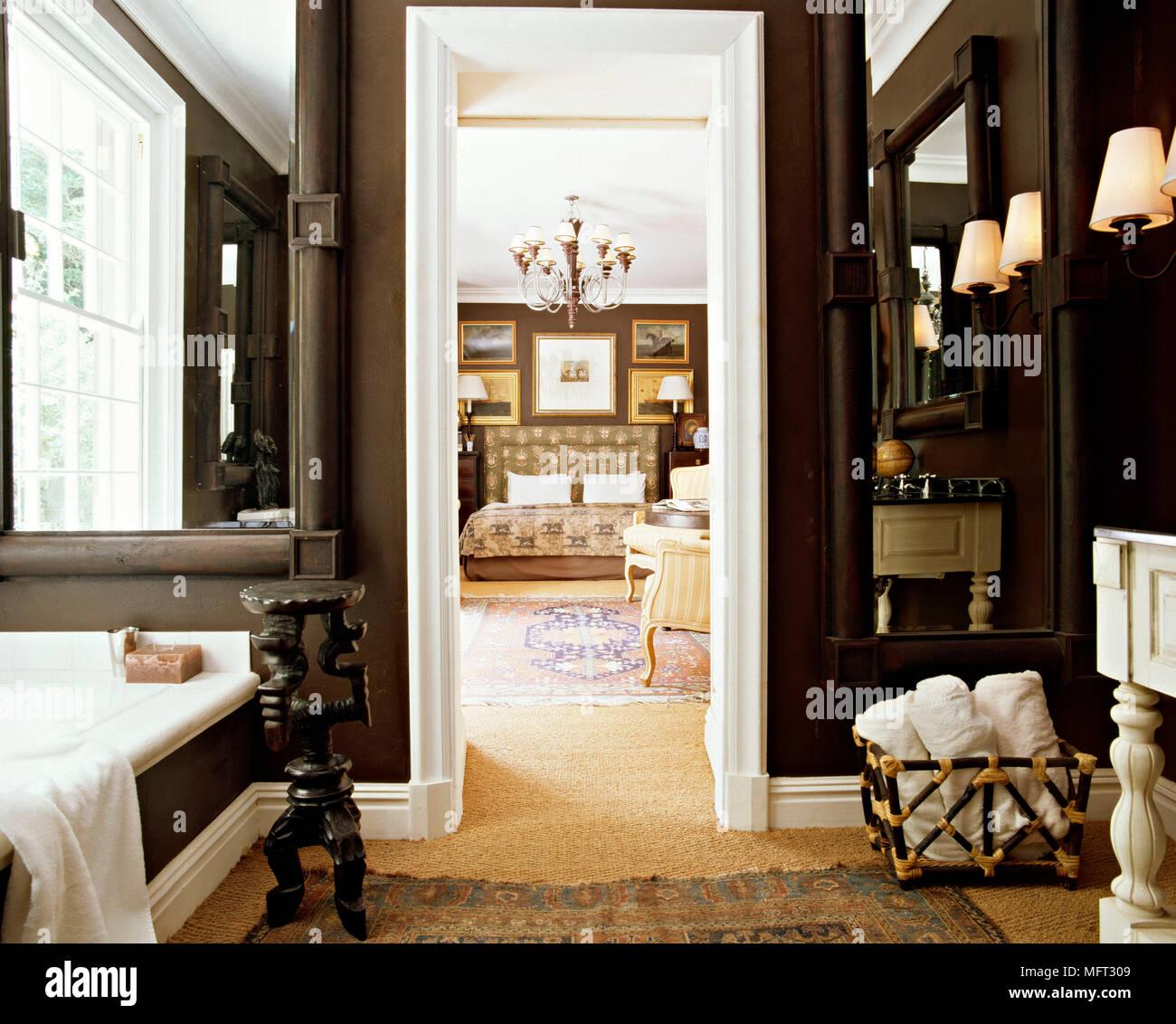 Schlafzimmer Dunkle Farben | Schlafzimmer Dunkle Möbel Wandfarbe