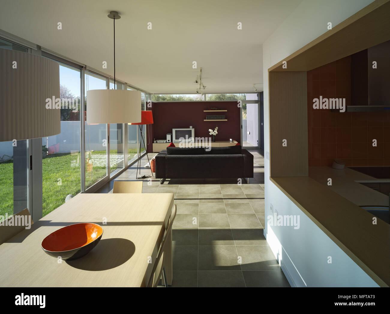 Boden Für Küche Und Wohnzimmer   Offene Küche Fussboden
