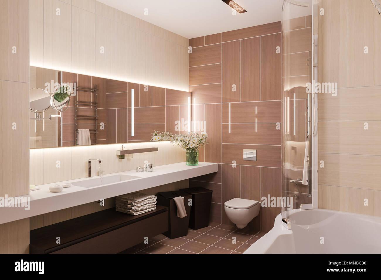 Warme Farben Fürs Badezimmer