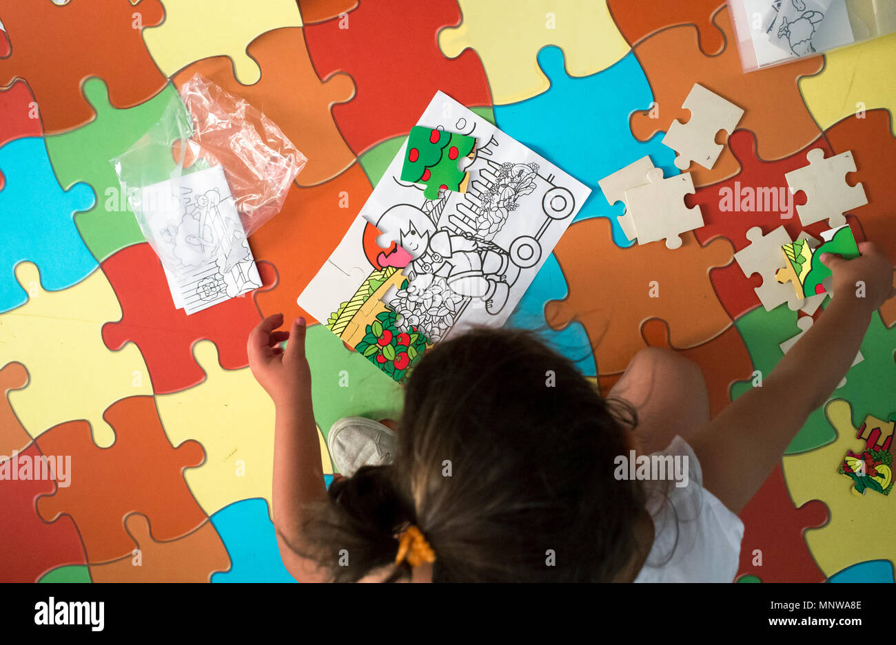 Teppich Puzzle Design Puzzle Carpet Stockfotos Puzzle Carpet Bilder Alamy