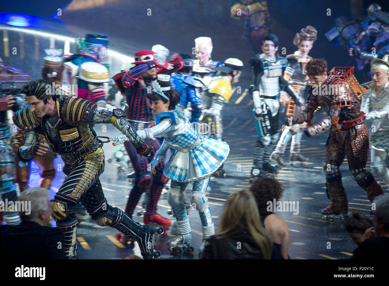 Roter Teppich Bochum Musical Starlight Express Stockfotos And Musical Starlight
