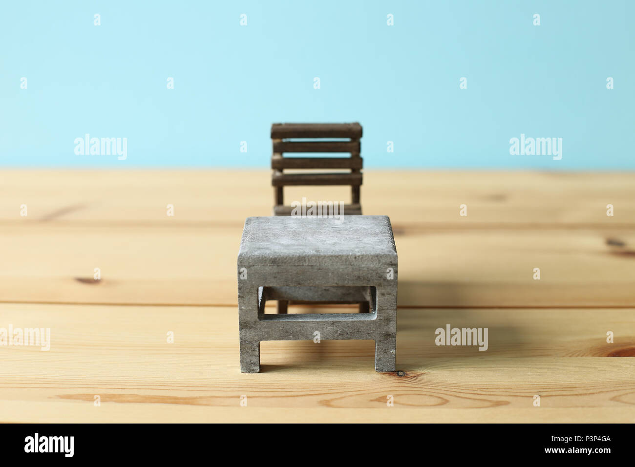 Alter Holzstuhl Schule Empty Old Classroom Wooden Chair Stockfotos Empty Old Classroom