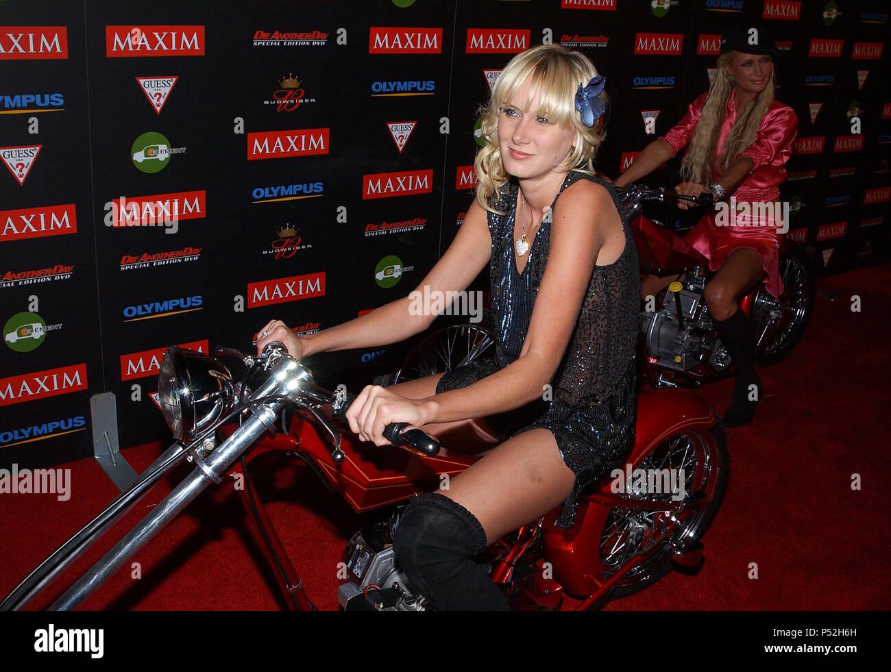 Paris Hilton Maxim Stockfotos Paris Hilton Maxim Bilder