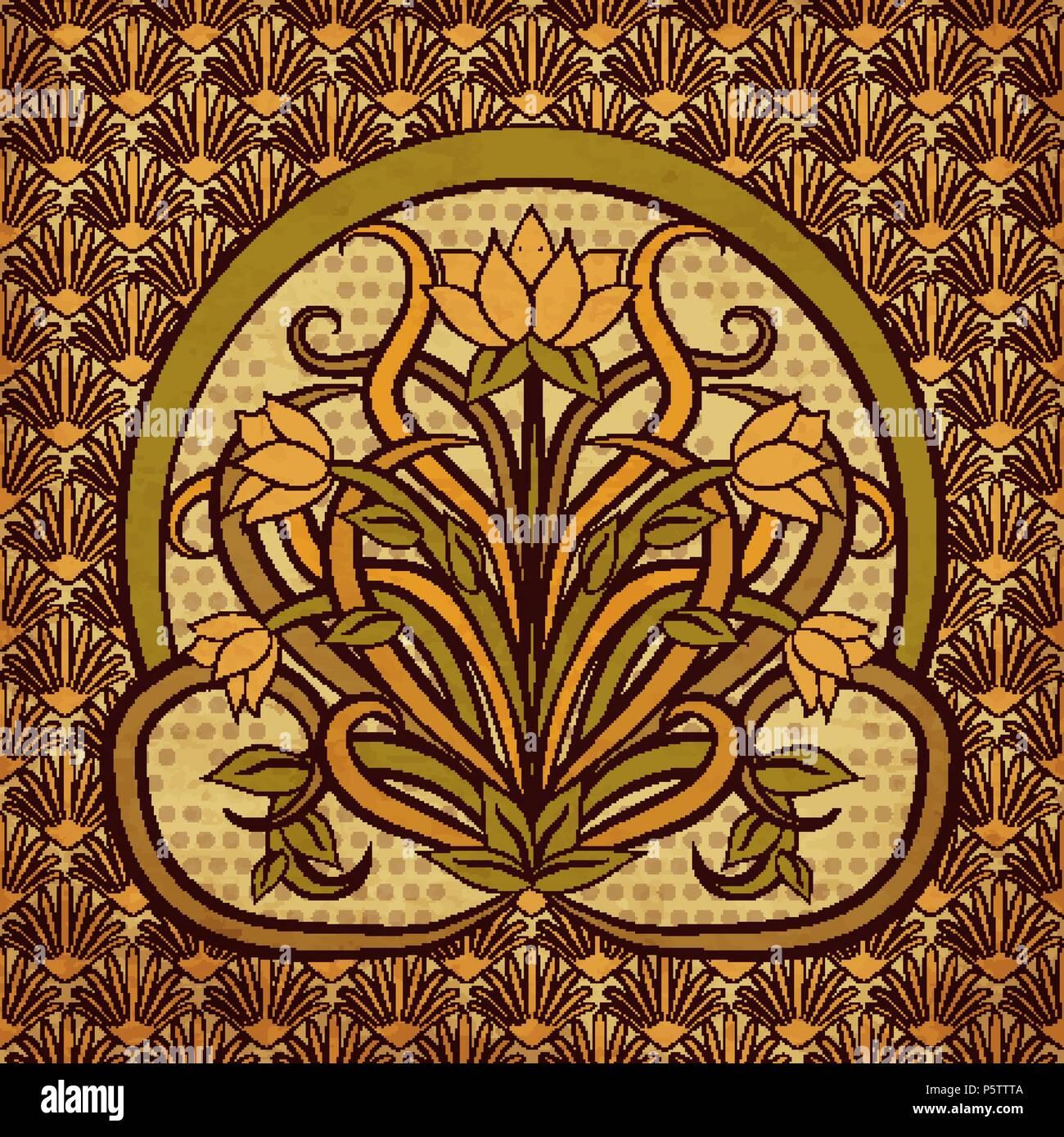 Tapeten Im Art Deco Stil Elegante Und Extravagante Tapete Brocades
