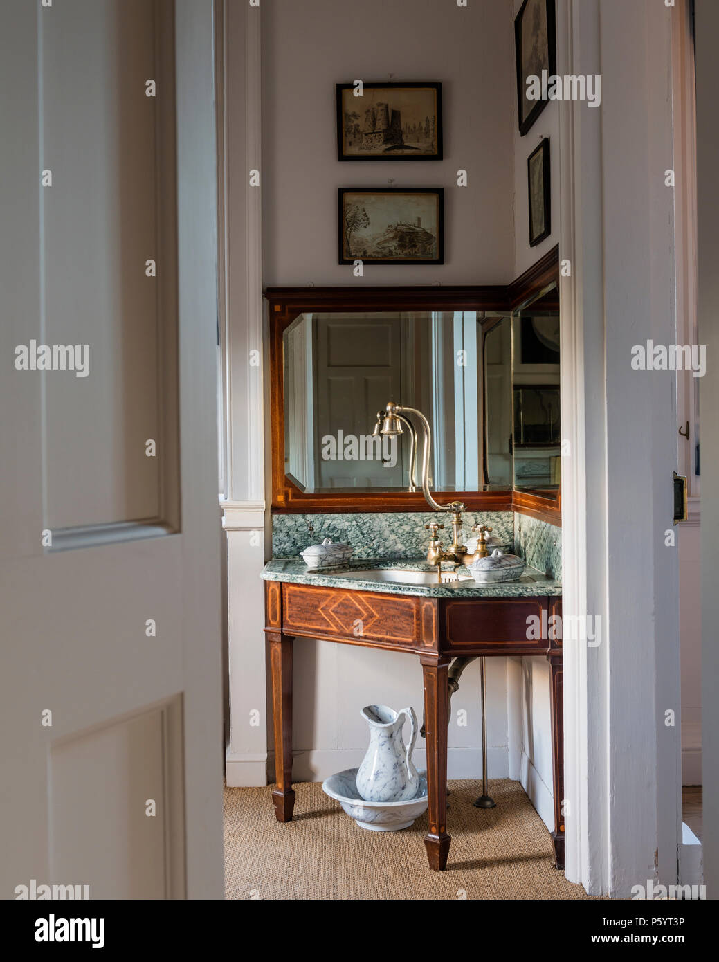 Badezimmer Accessoires Antik