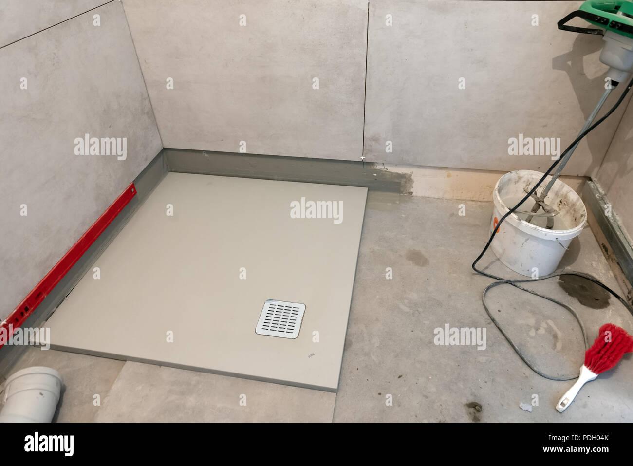 Badezimmer Installation | Wasserleitungen Aus Polypropylen Pex In ...