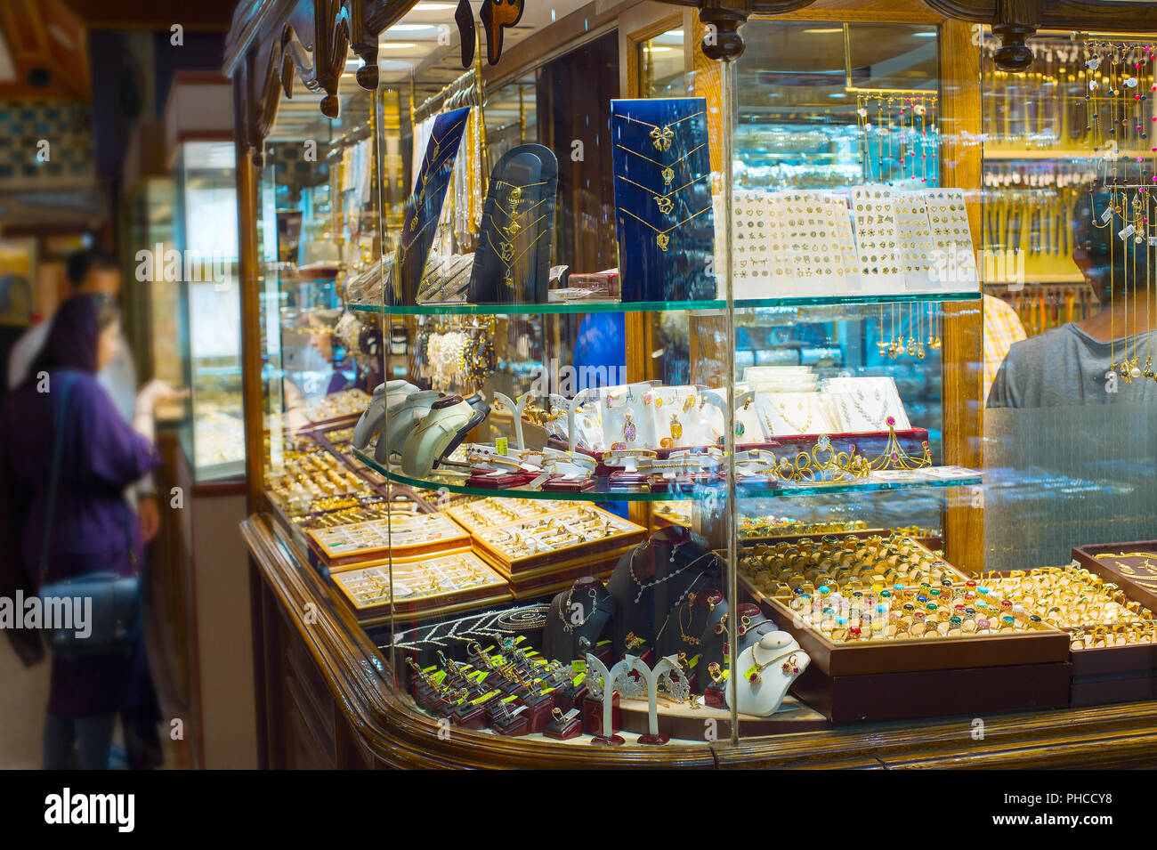 Schmuck Shops Schmuck Shops Teheran Grand Markt Stockfoto Bild 217247164 Alamy