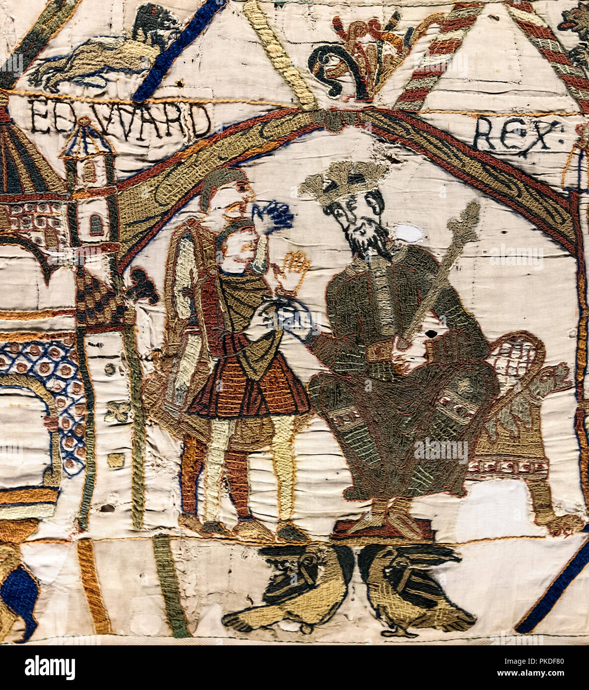 Teppich König King Edward The Confessor Stockfotos And King Edward The