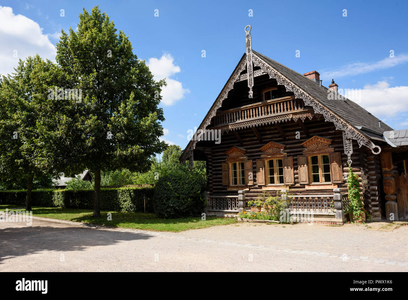 Russisches Holzhaus Russische Stockfotos And Russische Bilder Alamy