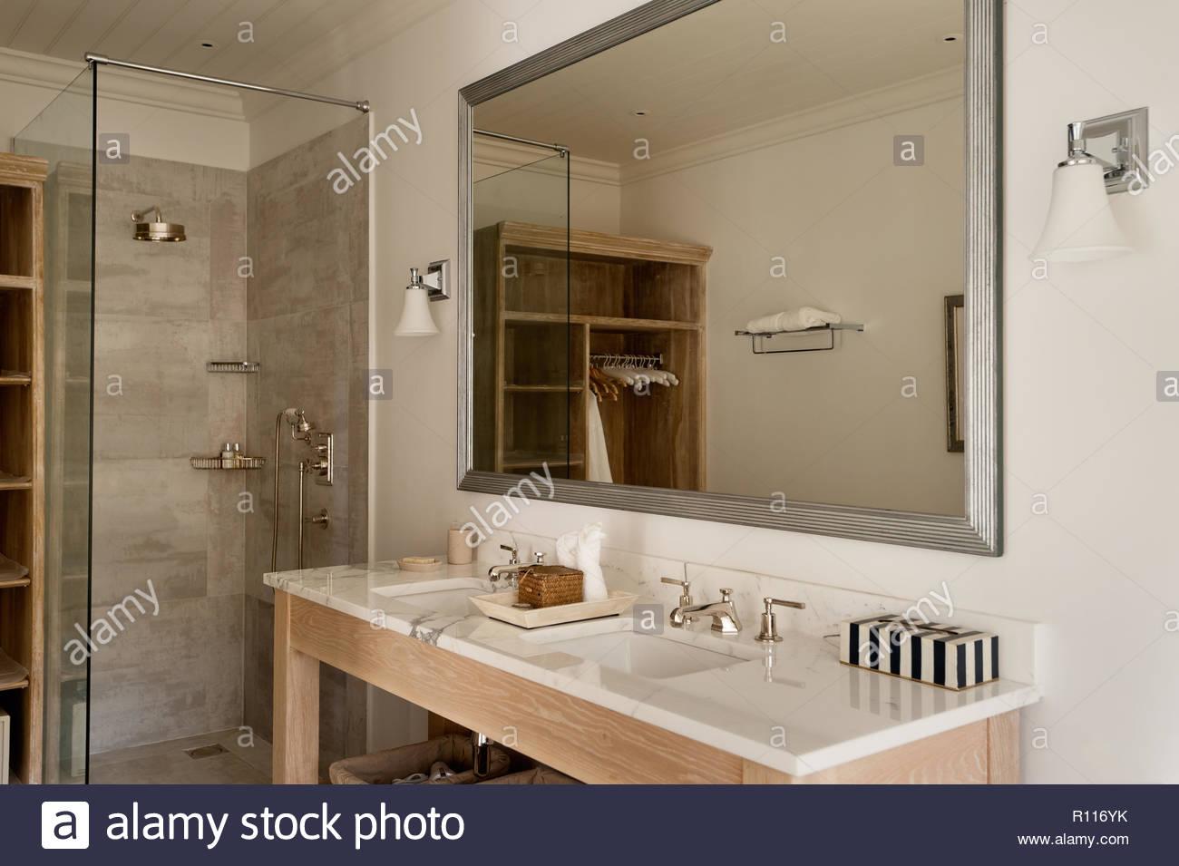 Waschbecken Bad Landhausstil | Nice Badezimmer Unterschrank ...